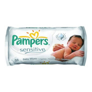 Pampers Babywipes Sensitive 56 Toallitas Humedas X 12 Paquet