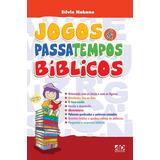 Livro - Jogos E Passatempos Bíblicos - Sílvio Nakano