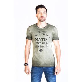 Remera Nativ- Kout Hombre