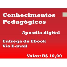 E-book: Conhecimentos Pedagógicos