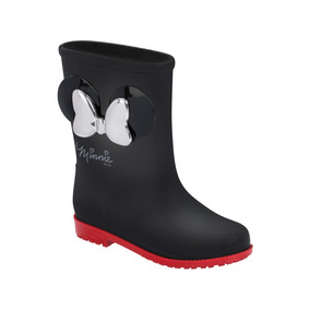 Galocha Disney Fashion Minnie Laço Preto