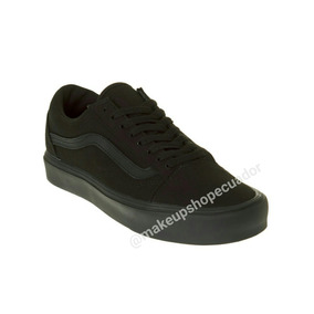 vans zapatos negros
