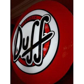 Placas Decorativas Luminoso Nneon Cerveja Duff Bar Buteco