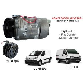Compressor Ar Behr 7h15 5pk Ducato/ Jumper 1ª Linha