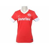 Camisa Nike Internacional Feminina Of.1 527763 Original