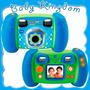 Camara De Fotos Digital Para Niños Con Pantalla Graba Edita