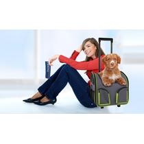Bolsa De Transporte Com Rodinhas Para Cachorro Pawise