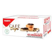 Café Cup Xícara Casquinha Marvi 60 Unidades