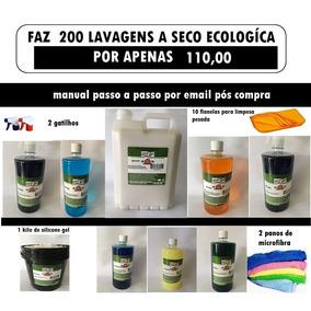 Lavagem A Seco Ecológico Kit Auto Wash 200