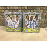 Colección Completa 24 Muñequitos Selección Argentina C/base