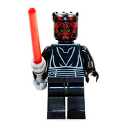 Bloco De Montar Darth Maul Star Wars Bcu