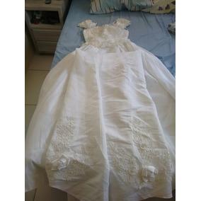 Vestido De Noiva Em Richelieu Tam-8 Importado