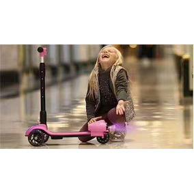 Patinete 3 Rodas Foguete Scooter Brinquedo Infantil Roda Com