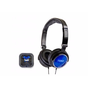 Fone Ouvido Estéreo Tipo Headphone Dobrável + Fone Earphone