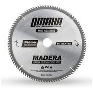 Hoja De Sierra Para Madera 254 X 30 Mm 60 Dientes Omaha