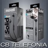 Auricular Maxell Solid Eb Bt100 Bluetooth Gtia Cb Telefonia