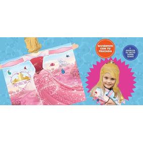Frazada Disfraz Princesa Aurora Bella Durmiente
