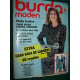 Revista Burda Con Moldes Ropa Moda Costura Confeccion 11/86
