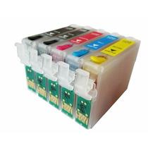 Cartuchos Recargables 138-140 Para Impresoras Epson Tx525fw