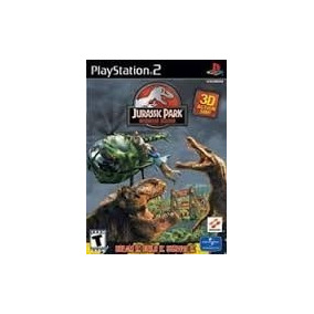 Jurassic Park Operation Genesis Ps2 Patch + 2 De Brinde