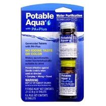 Potable De Aqua Purificación De Agua Tablets Con Jumbo Tamañ