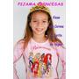 Pijama Princesas Viene Con Corona Y Varita De Regalo!!!
