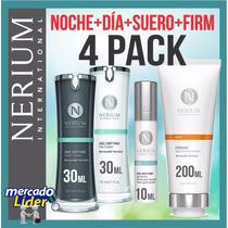 Nerium Pack: Dia + Noche + Cuerpo + Suero * Envio Gratis