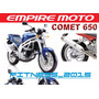 Manual De Despiece Empire Keeway Comet 650 2006 - 2012