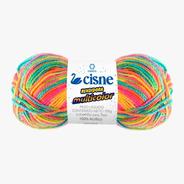 Lana Cisne Rendidora Multicolor X 5 Ovillos - 500gr