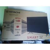 Tv Led Smart,,hitachi 32 ,,,nuevo En Caja