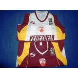 Camiseta Basket Skyros Venezuela Vinotinto Olimpiadas 2018