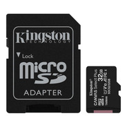 Kingston Microsdcs2 Canvas Selectplus 32gb Microsdhc Uhsicl0