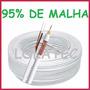 Cabo Coaxial 4mm Cftv Alimentação Bipolar 50mts Camera 95% !