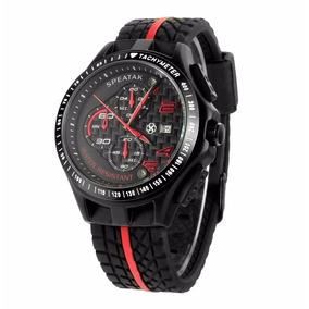 Relógio Masculino Barato Esporte Frete Grátis Estilo Ferrari