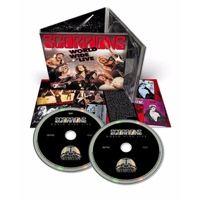 Box Scorpions - World Wide Live (digipack Deluxe + Dvd)