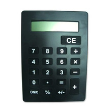 Calculadora De Mesa Grande Gigante Bk-5142 Benko Preto