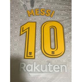 Tipografía Messi 2017 2018 Y Publicidad Rakuten