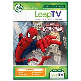 Leapfrog Leaptv Ultimate Spider-man Educativo, Juego De Vide