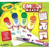 Juguete Crayola Emoji Cafetera, Marcador Stamper Cafetera,