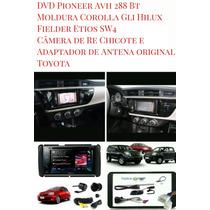 Kit Dvd Pioneer Toyota Corolla Gli Hilux Sw4 Fielder Etios