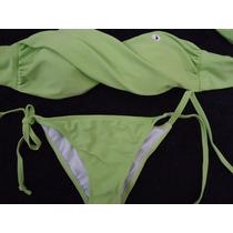 Traje De Baño Bikini 2 Piezas Hermoso Color Divino Precio