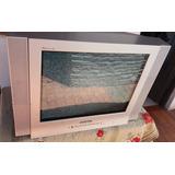 Tv Hitachi 21 Pulgadas Platinum Flat Con Control Excelente