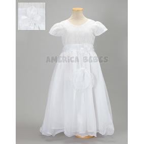 Vestido De Comunión Canesu Limosnera America Bebes