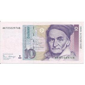 Cédula - German Fed. Rep - 10 Deutsche Mark - 1989 - Cat#38