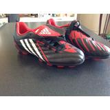 adidas Taco/tachon/zapatos Futbol Para Niños Predito Ps Trx