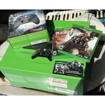 Paquete Xbox One, 2 Controles, Juegos. Con Ticket De Compra.