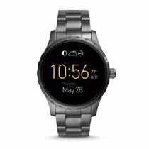 Reloj Fossil Smartwatch Q Marshall Ftw2108 Negro Para Hombre