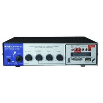 Amplificador De Mesa Para Som Ambiente Lt1000 Usb Unic