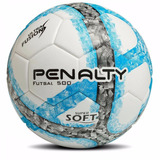 Bola Futsal Penalty Ultra Fusion 500 Super Soft (bco azul) 5d0c84f123130