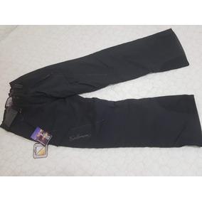 Pantalon Salomon - Unisex- Nieve, Moto Lluvia Negro Talle 38
